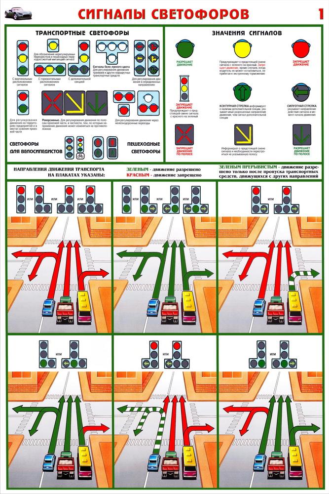 светофоров (ламинированная